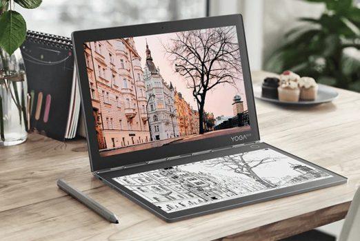 Adaptacyjna wirtualna klawiatura sprawia, że Lenovo Yoga Book jest jeszcze bardziej inteligentny!